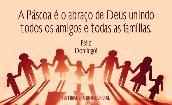 A Páscoa é O Abraço De Deus Unindo Todos Os