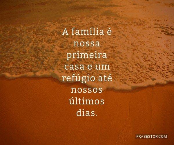 A família é nossa...