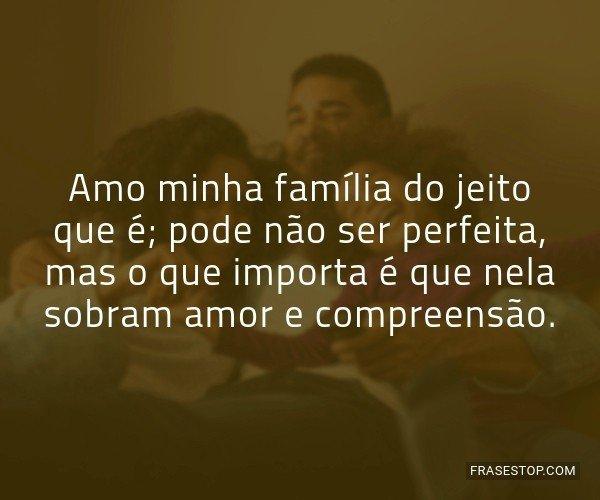 Amo minha família do...