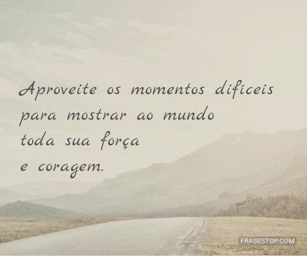 Aproveite os momentos...