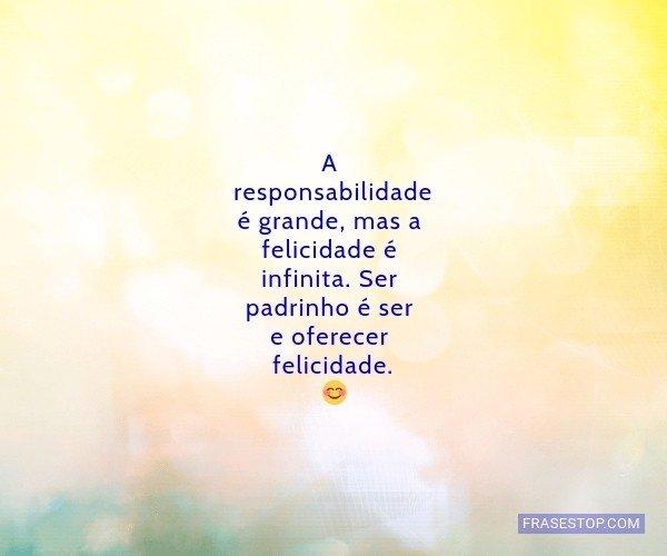A responsabilidade é...