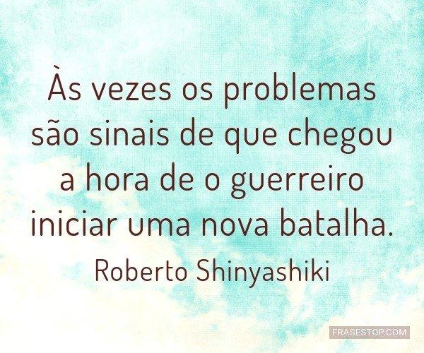 Às vezes os problemas...