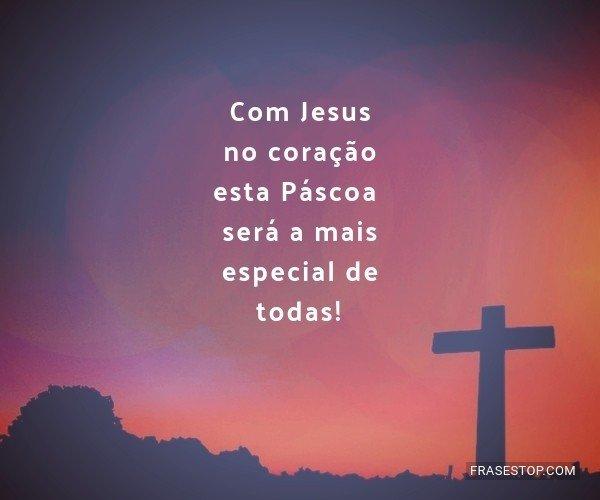 Com Jesus no coração...