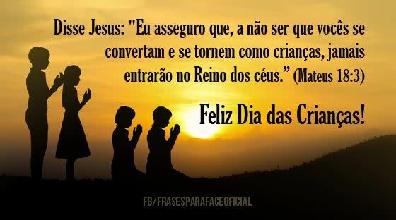 Disse Jesus: Eu asseguro...