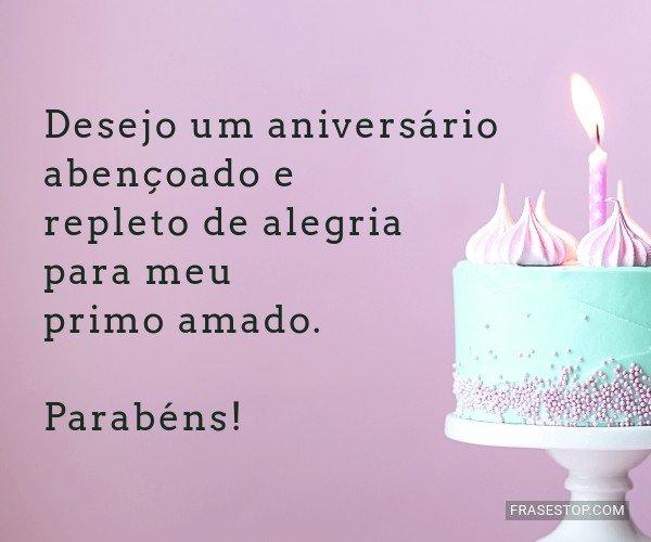 Desejo um aniversário...
