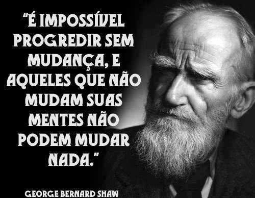 É impossível progredir...