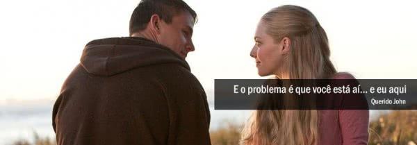 E o problema é que você...