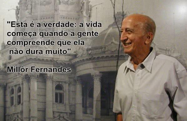 Esta é a verdade: a vida...
