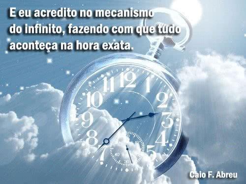 Eu acredito no mecanismo...