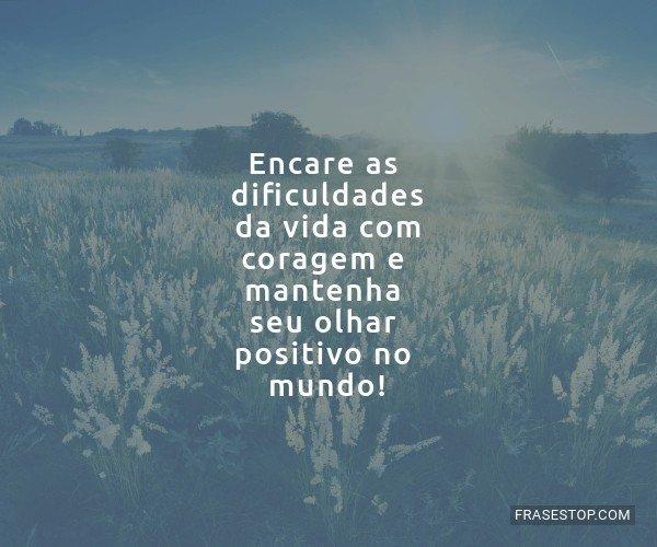 Encare as dificuldades da...