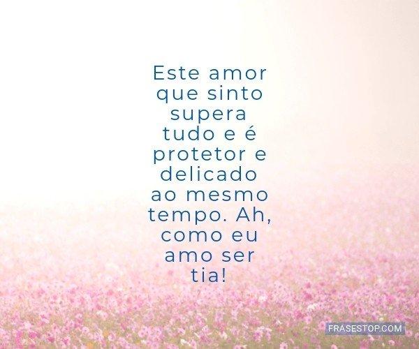 Este amor que sinto...