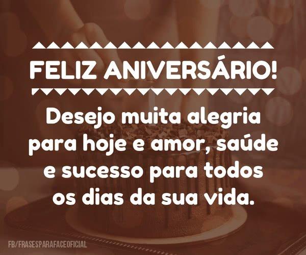Feliz aniversário!...