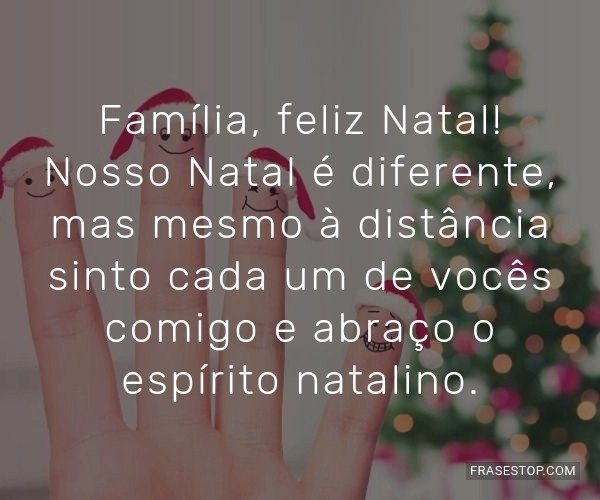 Família, feliz Natal!...
