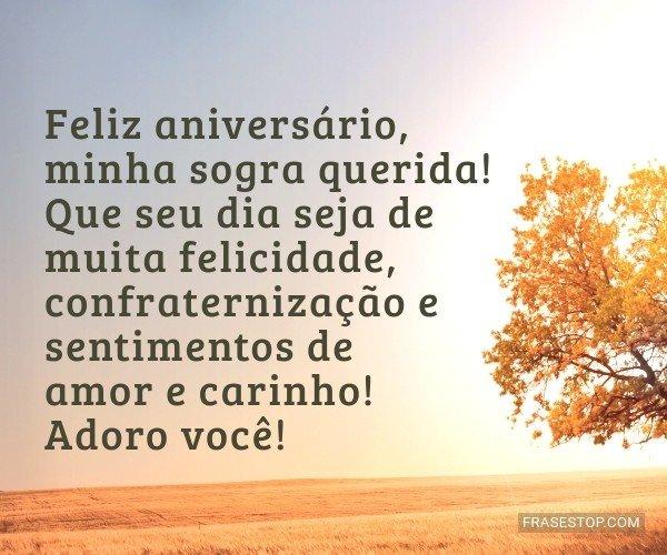 Feliz aniversário, minha...