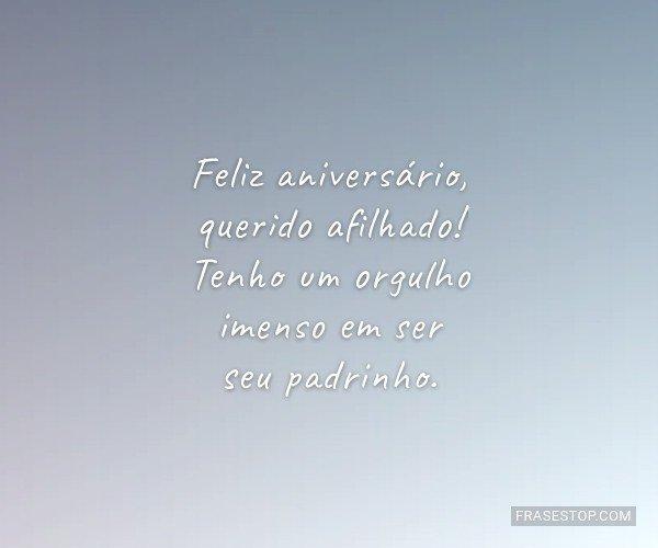 Feliz aniversário,...