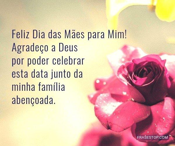 Feliz Dia das Mães para...
