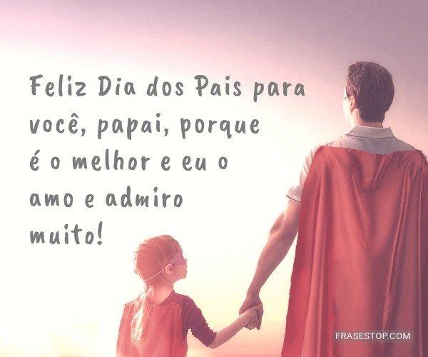 Feliz Dia dos Pais para...