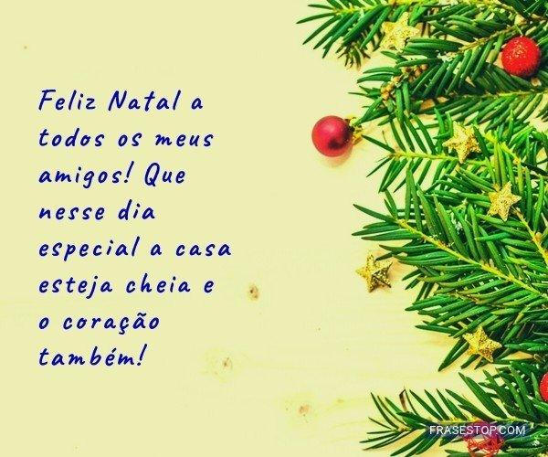 Feliz Natal a todos os...