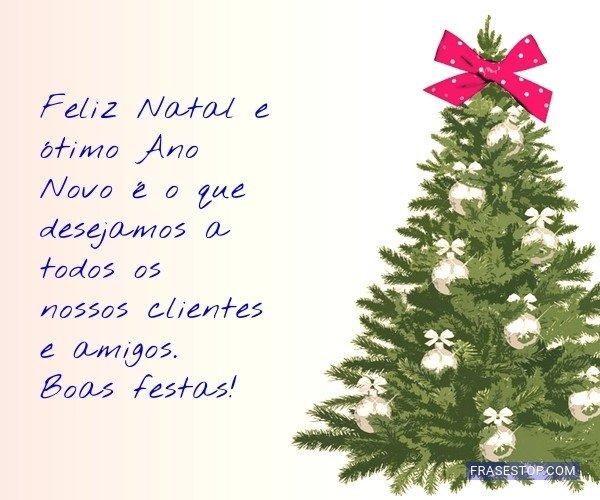 Feliz Natal e ótimo Ano...