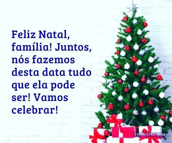 Feliz Natal, família!...