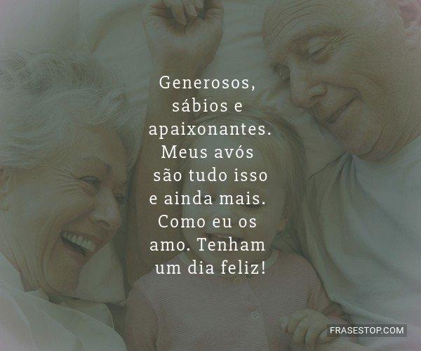 Generosos, sábios e...
