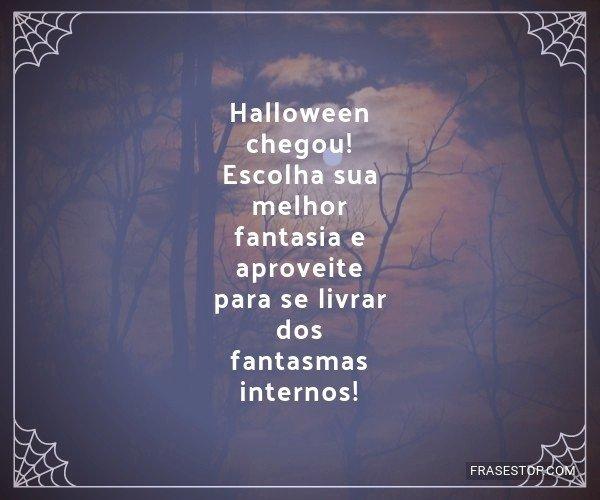 Halloween chegou! Escolha...