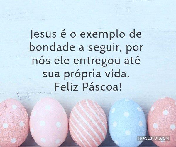 Jesus é o exemplo de...