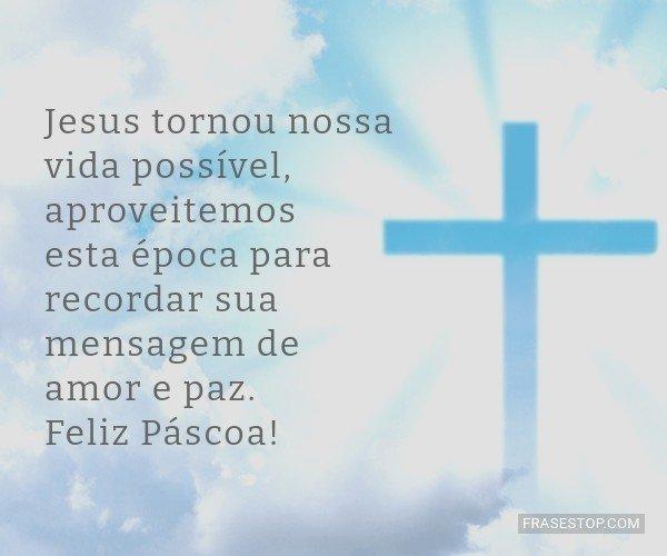 Jesus tornou nossa vida...