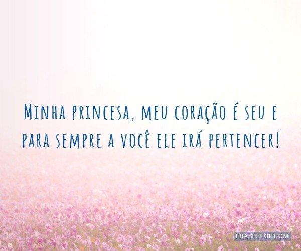 Minha princesa, meu...