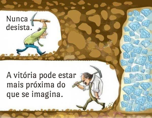 Nunca desista. A...