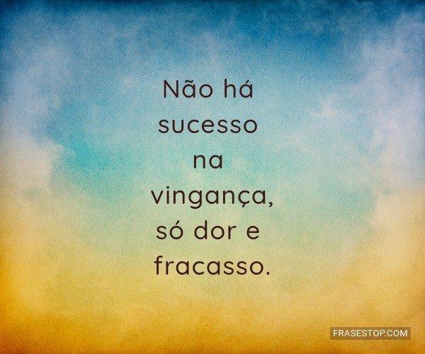 Não há sucesso na...