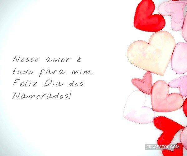 Nosso amor é tudo para...