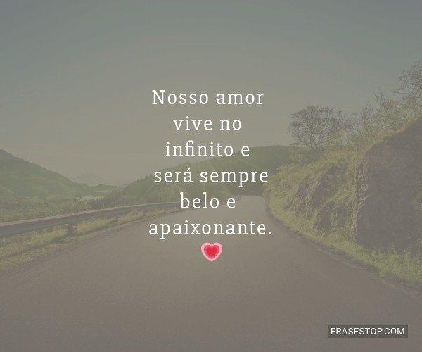 Nosso amor vive no...