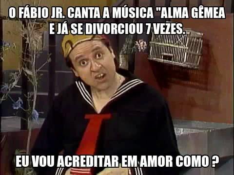 O Fábio Jr. canta a...