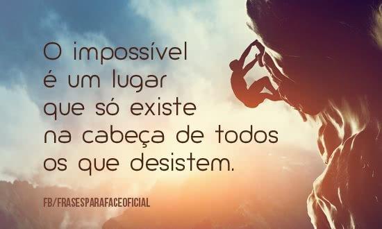 O impossível é um lugar...
