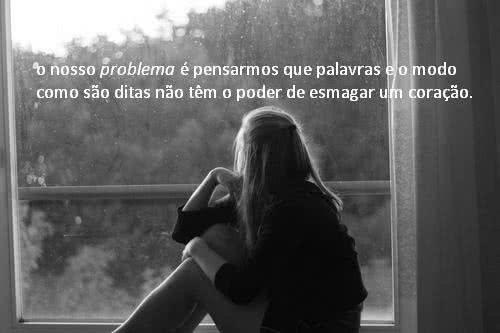 O nosso problema é...