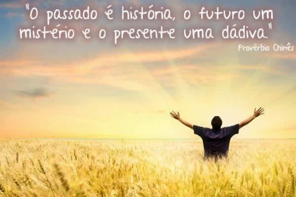 O passado é história, o...
