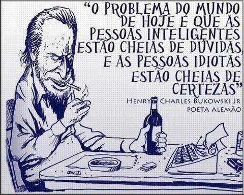 O problema do mundo de...