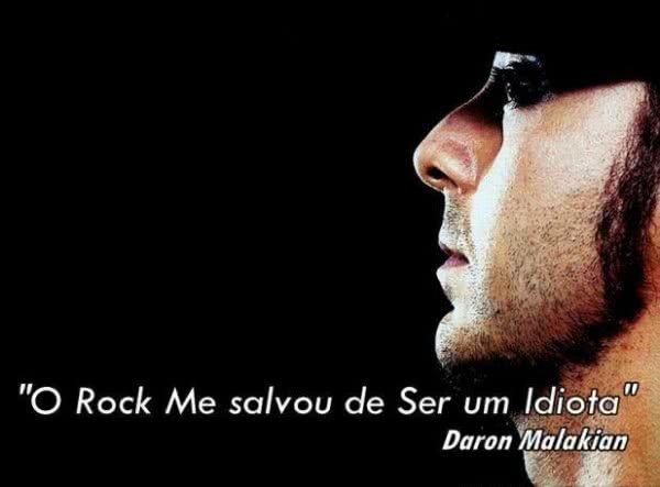 O Rock me salvou de ser...