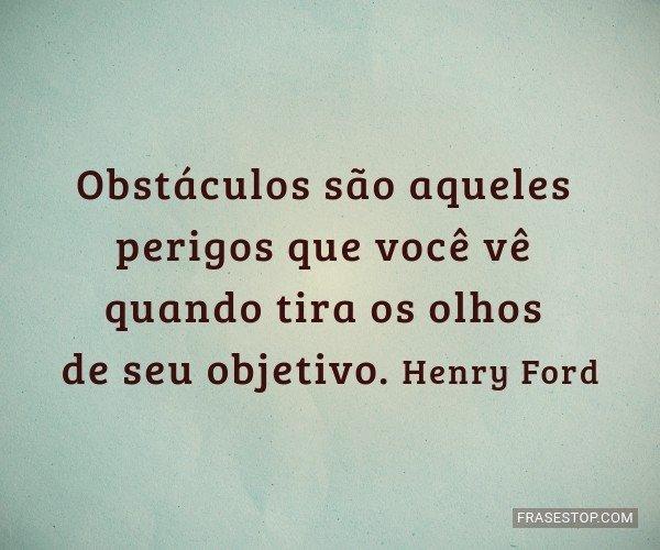 Obstáculos são aqueles...