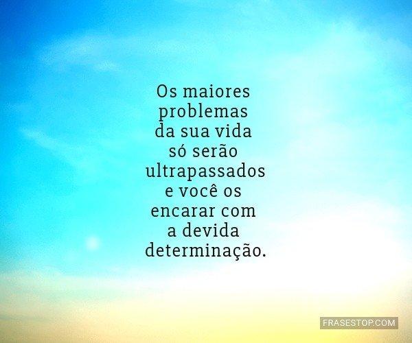 Os maiores problemas da...