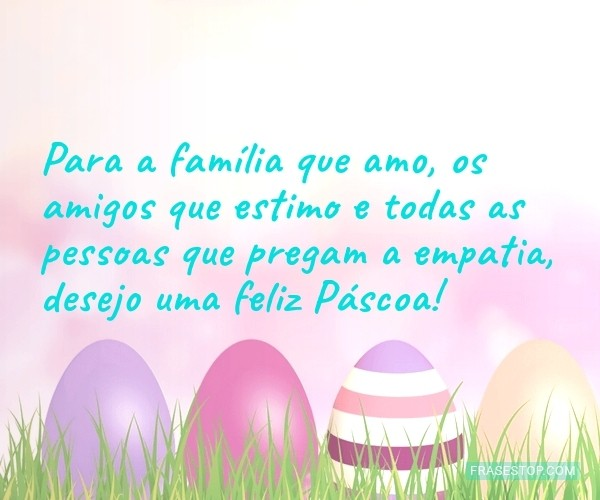 Para a família que amo,...