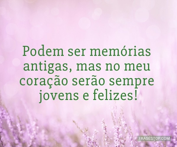 Podem ser memórias...