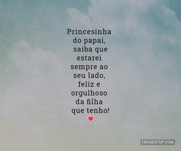 Princesinha do papai,...