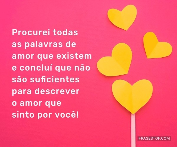 Procurei todas as...