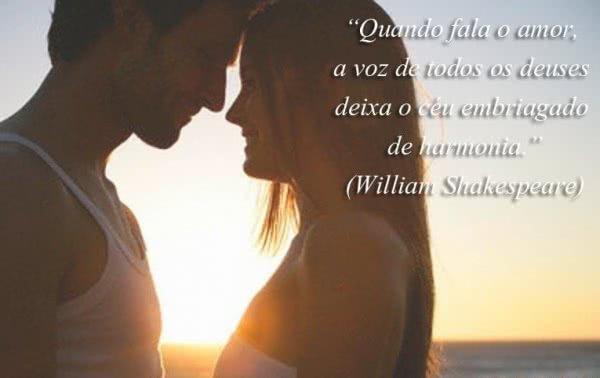 Quando fala o amor, a voz...