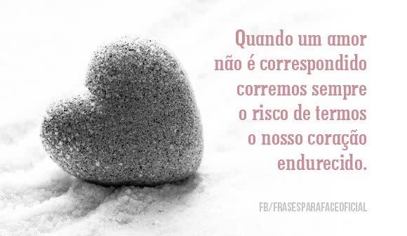 Quando um amor não é...