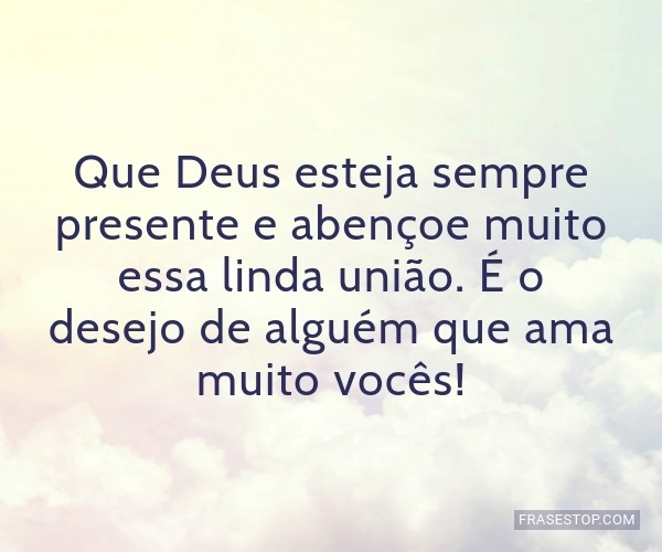 Que Deus esteja sempre...