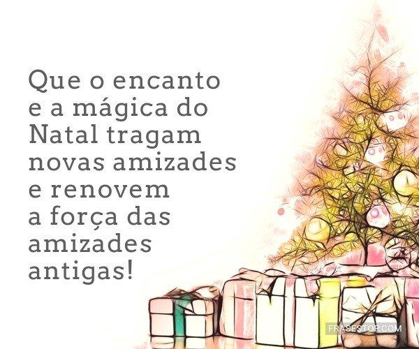Que o encanto e a mágica...