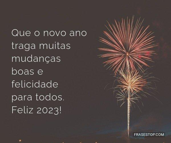 Que o novo ano traga...